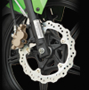 Kawasaki Athlete Wave Disc Brake