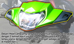 Kawasaki EDGE Headlamp