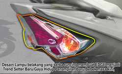 Sporty Back Lamp Design