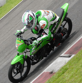 Athlete 125 di Indoprix Seri 2