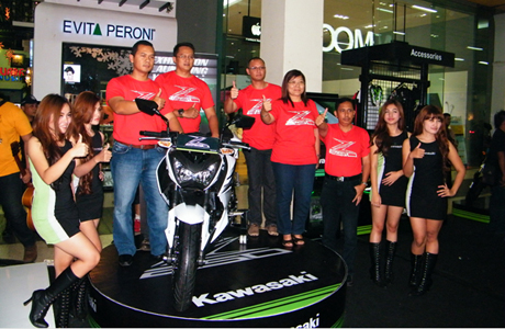 Launching Kawasaki Z250 @PVJ