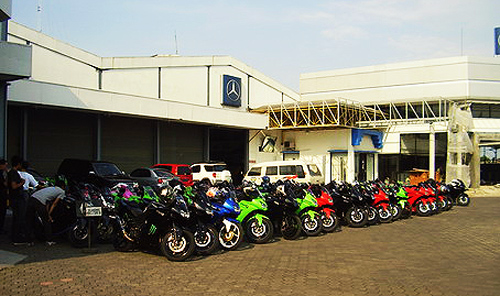 Pendaftaran Event Kawasaki Safety Riding