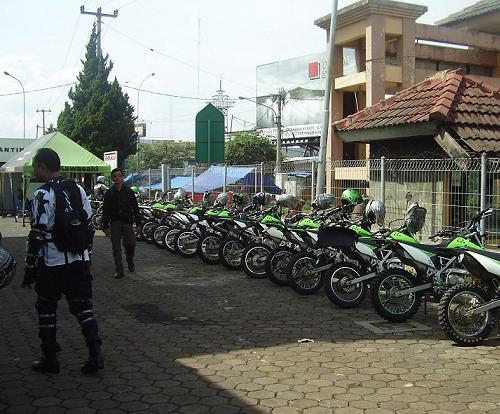 Kawasaki Trail Gathering di Punclut, Bandung + Pic Inside & FR Klx3